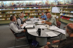 The Brethren Digital Archives Committee met at the Brethren Heritage Center in Brookville, Ohio, on August 1.