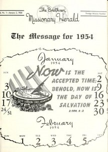 The 1954 edition of the Brethren Missionary Herald, along with others, are now available on the Internet.
