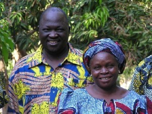 Dadje Samuel and his wife, Christine