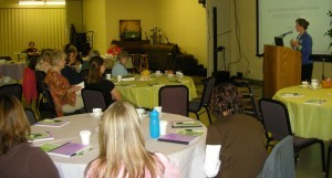Wanda Cullison was the keynote speaker for the Heartland Women of Grace's Day Away on Saturday.