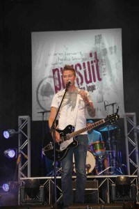 Jeremy Byng, who once attended the Momentum Youth Conference as a teen, led worship this week at Momentum