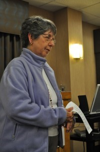 Janet Minnix, president of Women of Grace USA, announces a new program in Women's Leadership Studies in partnership with Grace Theological Seminary.
