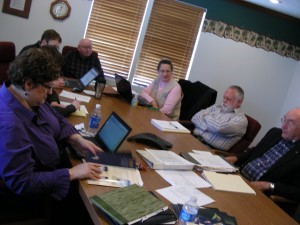 The Brethren Digital Archives committee met today at CE National in Winona Lake, Ind.