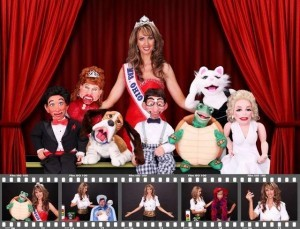 """Kimberly Yeager Miller, from the Wooster, Ohio, Grace Brethren Church, is one of five ventriloquists starring in the new documentary film, """"Dumbstruck."""" / Submitted photo."""