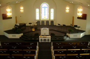 grace chapel sanctuary