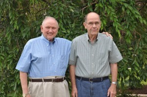 Long-separated brothers, Jim and Jack Parsons, found each had attended the same Grace Brethren church for many years and their paths had never crossed.