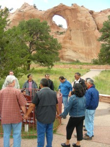 In the shadow of Window Rock, ethnic Grace Brethren pastors prayed for the Navajo Nation.