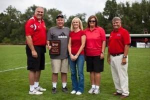 From left: John Boal, Stephen Miller, Lee Miller, Tammy Denlinger, and Bailey Weathers