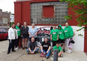 A group from Grace Community Church in Richmond, Va., recently spent time helping at Urban Hope in Philadelphia.