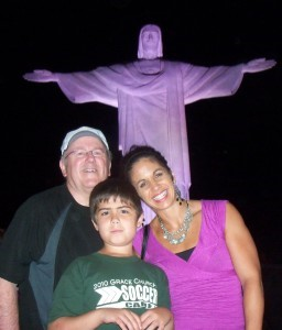 Norm Johnson and family visit Brazil