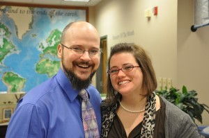Pastor Shannon Horst and his wife, Stephanie