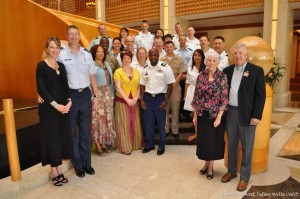 Grace Brethren military chaplains and their wives who attended Vision2020 West.