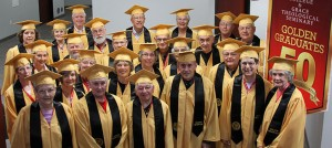 "There were 33 ""golden grads,"" members of the Class of 1963, who celebrated their 50th class reunion on graduation weekend. They preceded the Class of 2013 into the OCC."