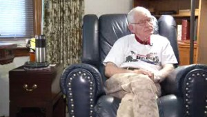Bob Walz, who attends Grace Polaris in Columbus, Ohio, participated in five major battles during World War II.
