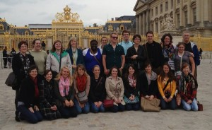 Grace College students visited London and Paris.