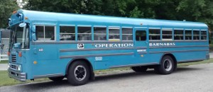 Bus #40 for Operation Barnabas