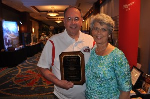 This summer, Sharon joined Terry when he was recognized by the Association of Grace Brethren Ministers with the Lifetime Achievement Award.