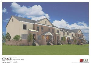 Proposed dorm at Grace College.