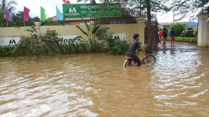 Flooding in Battambang, Cambodia, has affected some of the Asia's Hope children's homes there.