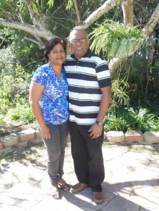 Pastor Roger and Kumarie Dabideen, Grace Church, Cunupia, Trinidad