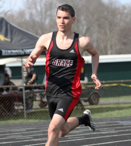 Lance Taylor will represent the Grace College Lances in the 400-meter race at the 2014 NAIA Outdoor Track & Field National Championships.