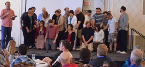 Encompass World Partners commissioned several missionaries on Sunday afternoon.
