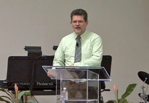 On Sunday night, Dr. Randy Smith talked about the situation in the Middle East.