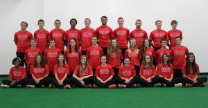 Grace College 2014 cross country team