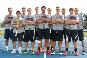 Grace's men's tennis team for 2014