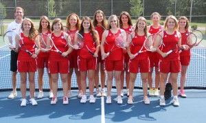 2014 Grace women's tennis team
