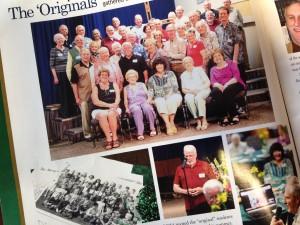 Brethren Magazine, from Brethren Christian Junior and Senior High School, features last summer's reunion of the school's original students.