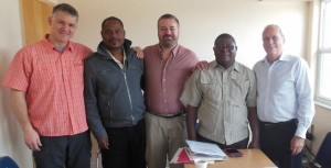 The board of directors of Caribbean Vision met recently in Fort Lauderdale, Fla.