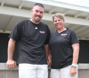 Heach coach Heather Johnson, with her husband Jay Johnson as an assistant, has led the Grace College Lady Lancers to the NCCAA World Series for the second consecutive year. Photo by Josh Neuhart