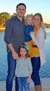 Wade and Anna Rininger and family