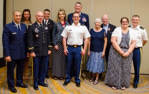 Military chaplains (and their wives) were recognized at the Grace Brethren Investment Foundation/Eagle Commission dinner on Thursday.