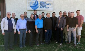 2016 Fellowship Council, the Fellowship of Grace Brethren Churches -- front, left to right, G. Howell, R. Boehm, G. Serafino, J. Cosentino, R. Todd, S. Avey, B. Sawatsky; back, left to right, T. Avey, L. Orme, T. Hodge, K. Pinkerton, M. Saldivar, M. Lingenfelter, P. Bryant, J. Wike.