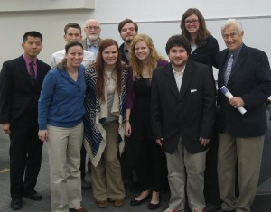 The Grace College mediation team recently competed in Iowa.