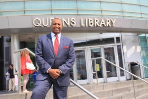 Michel Faulkner, who pastors New Horizon Church in New York City, is running for mayor of the city.