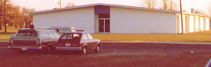 Building housing Brethren Christian School after its construction in the 1980s.