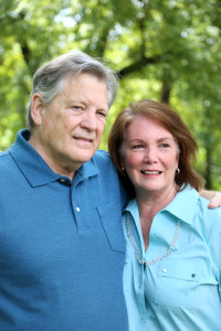 Dan (1949-2017) and Jackie Thompson